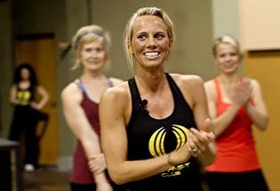 BurstClub Jenni Oates work out smiling